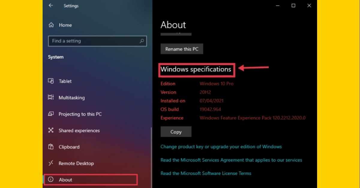 Windows 10 Version, Edition