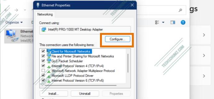 Configure LAN